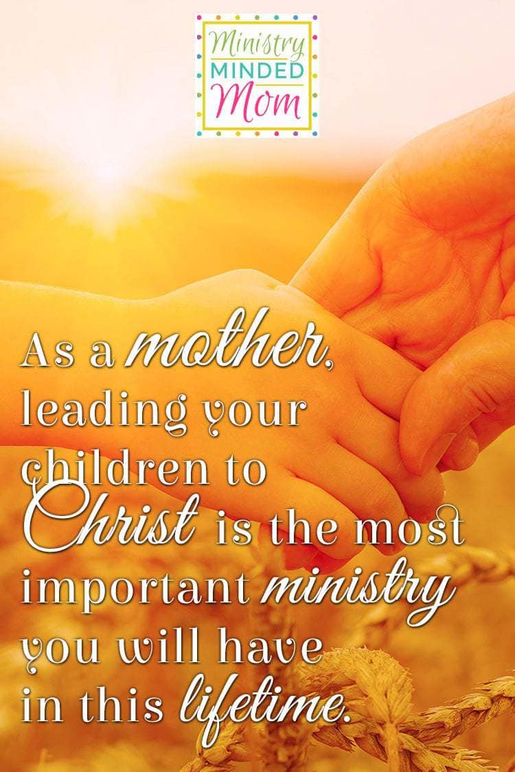 Christian mom take note! The ministry of motherhood is a key to Biblical homemaking and Christian homemaking. Christian parenting isn't easy, but it is a blessing and a calling from God.