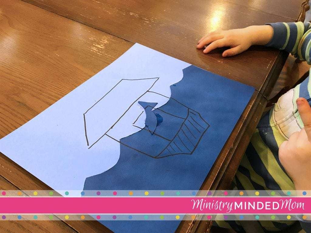 Noah's Ark Preschool Craft