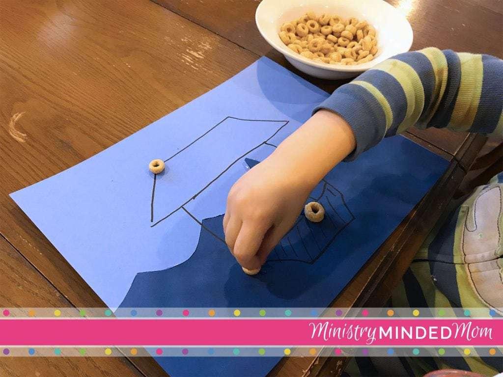 Noah's Ark Toddler Craft