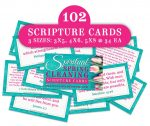 Spiritual Spring Cleaning Challenge - Scripture Cards