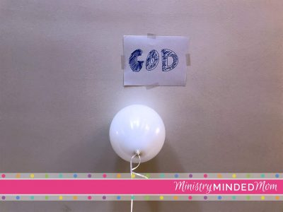 Sin Object Lesson for Children