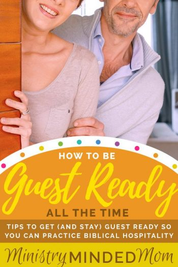 How to be Guest Ready All the Time