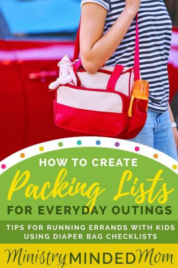 How to Create Packing Lists for Everyday Outings