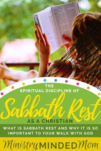 The Spiritual Discipline of Rest