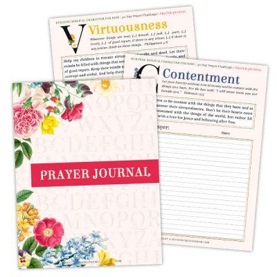 Prayer Journal for Praying for Your Children